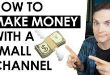 Earning money from youtube channel