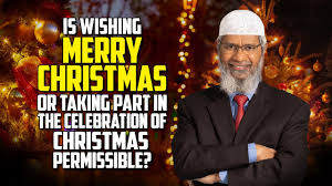 Is it haram wishing merry Christmas